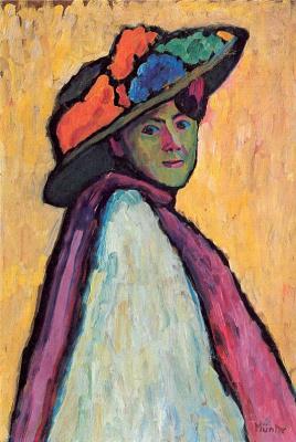 Gabriele Münter. Portrait of the artist Marianne Verevkin
