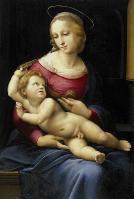 Raphael Sanzio. Madonna Bridgewater