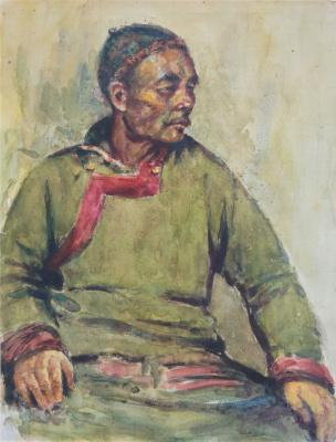 Сергей Данилович Думенко. Узбек.