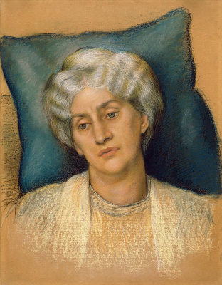 Evelyn De Morgan (Pickering). Portrait of Jane Bearden Morris