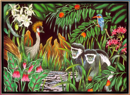Джуди Вайс. Джуди Вайс. Тропический лес для детей 05