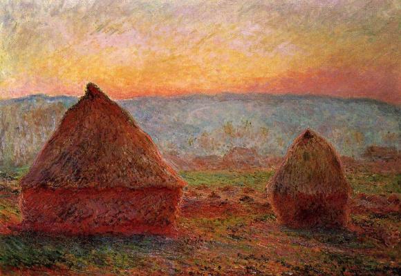 Claude Monet. Stack