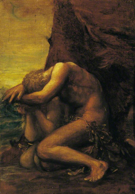 George Frederick Watts. Adam and Eve