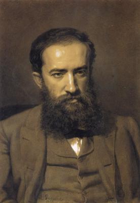 Ilya Efimovich Repin. Portrait of M. V. Prahov