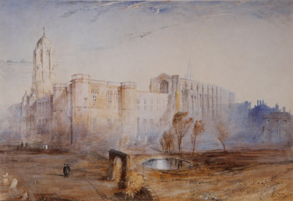 John Ruskin. Christ Church, Oxford