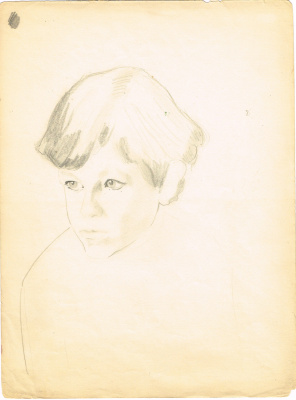 Unknown artist. Portrait of a boy