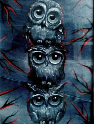 "Ekaterina Evgenievna Barkhatova. ""Night Owls"""