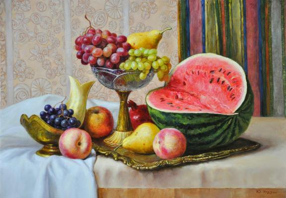 Yuri Viktorovich Kudrin. Yuri Kudrin Berries and fruits. 2014