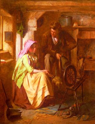 Уильям Генри Мидвуд. Ухаживание