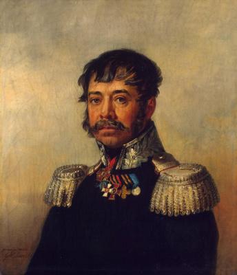 George Dow. Portrait of Osip Vasilyevich Ilovaisky