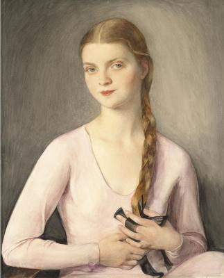 Saveliy Abramovich Sorin. Portrait of Marina Shalyapina. 1951