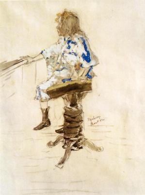 Marcel Duchamp. Portrait of Yvonne Duchamp