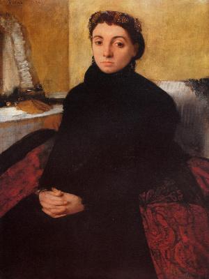 Edgar Degas. Josephine Goelen