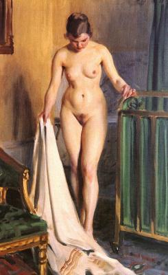 Anders Zorn. In the bedroom