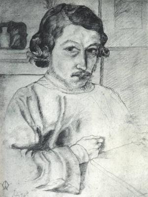 William Morris. Self-portrait