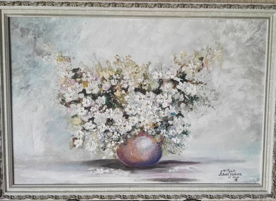 Алина Евгеньевна Шварёва (Галкина). White bouquet