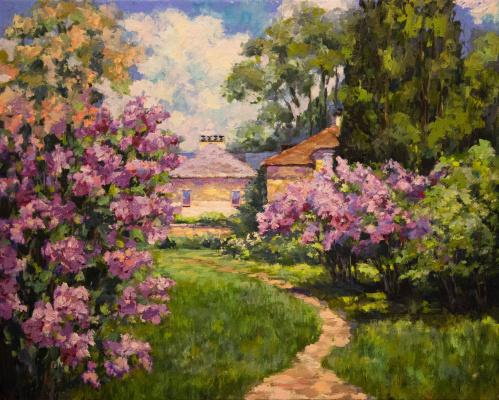 Mila Kaneyeva. Blooming garden (free copy)