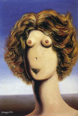 Rene Magritte. Violence