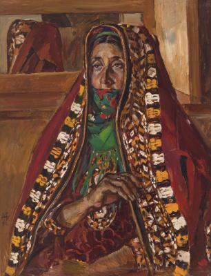 Дурды Байрамович Байрамов. Женщина в курте