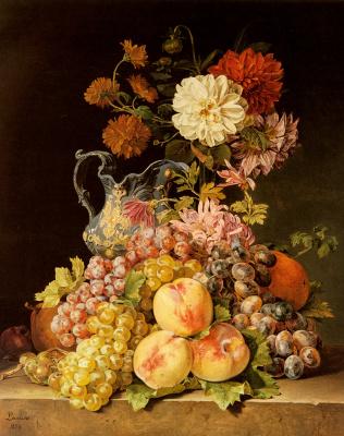 Полина Куделка-Шмерлинг. Натюрморт с цветами