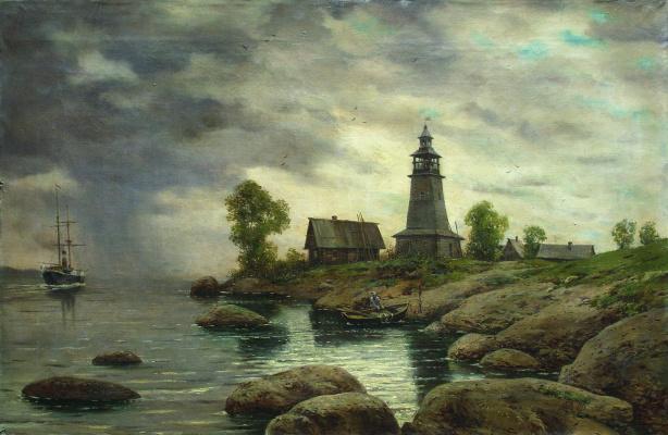 Лев Феликсович Лагорио. Залив. 1895