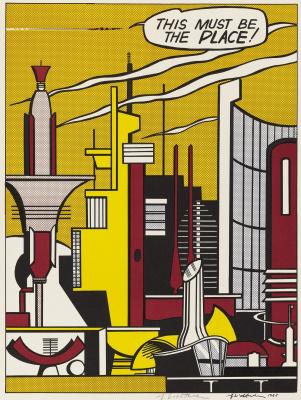 Roy Liechtenstein. It should be a city!