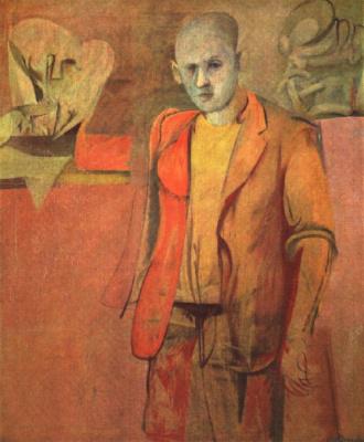 Willem de Kuning. Standing man