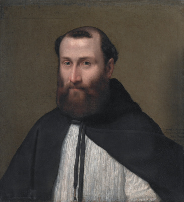 Sofonisba Anguissola. Portrait of canon