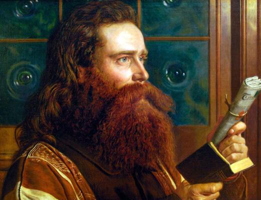 Уильям Холман Хант. Портрет монаха и теолога Генри Вентворта