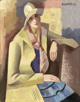 Андре Лот. Портрет Анны. 1925