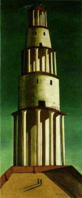 Джорджо де Кирико. Великая башня