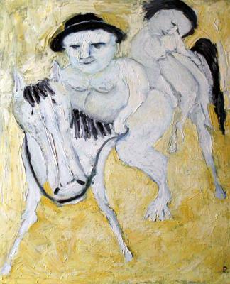 Svyatoslav Ryabkin. Don Kihot and Dulcinea Don Quixote and Dulsinea