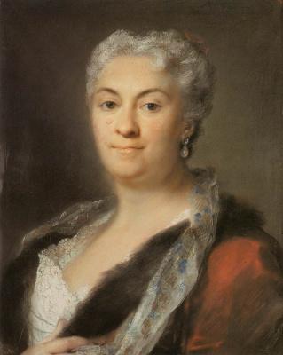 Розальба Каррьера (Каррера). Портрет пожилой дамы