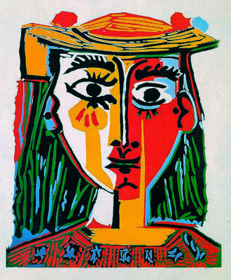Pablo Picasso. Woman in hat