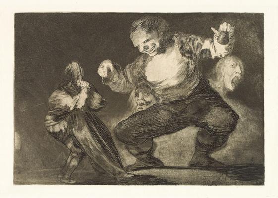 Francisco Goya. Simpleton