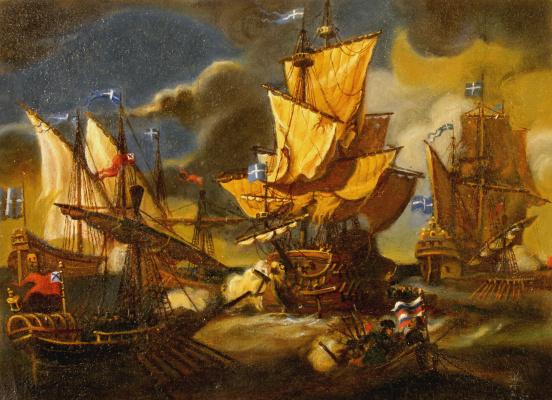 Daniil Litvinov. Морской бой