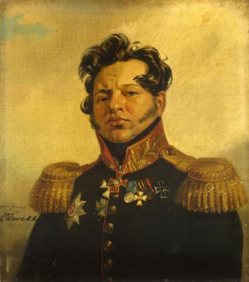 George Dow. Portrait of Fyodor Nikolaevich Posnikov