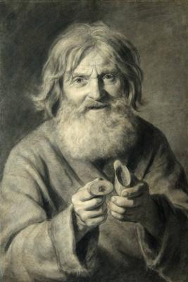 Павел Петрович Чистяков. Старик с табакеркой