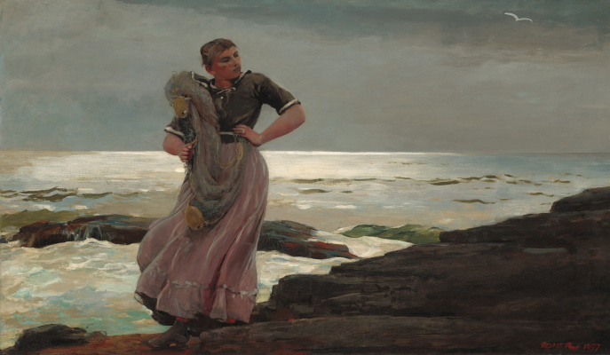 Winslow Homer. Light on the sea