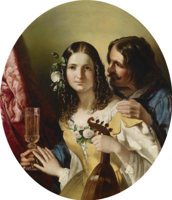 Фридрих фон Амерлинг. Вино, женщина и песня.