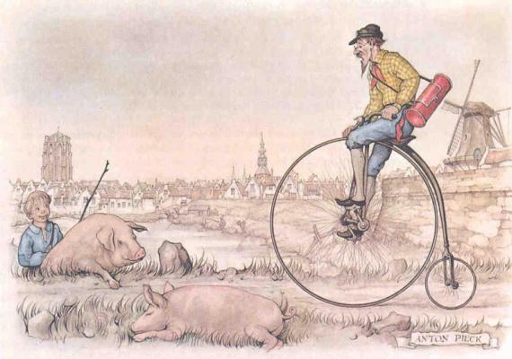 Anton Peak. Mode of transport. Bike