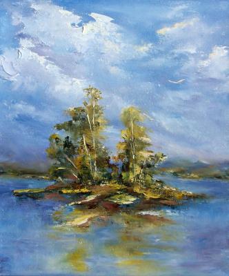 Elena Viktorovna Yudina. Island