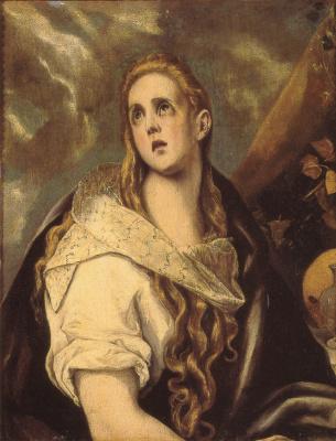 Domenico Theotokopoulos (El Greco). The Penitent Magdalene