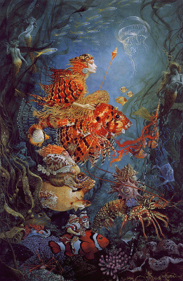 James Christensen. Fantastic sea