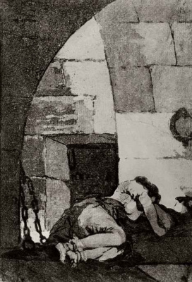 Francisco Goya. Prisoner