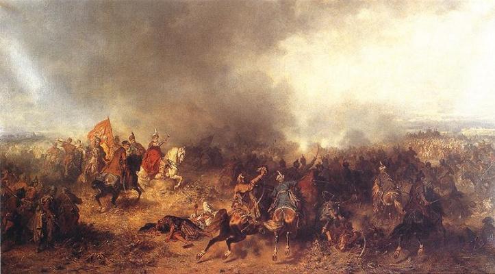 Йозеф фон Брандт. Битва при Хотыне в 1621 году