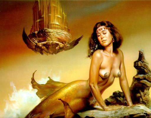 Boris Vallejo (Valeggio). Mermaid