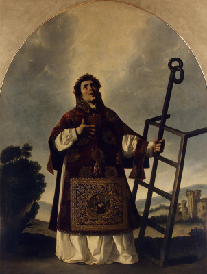 Francisco de Zurbaran. Saint Lawrence
