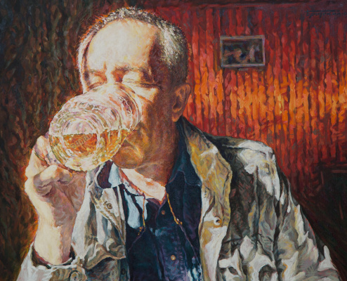 Давид Шикович Бродский. Любитель пива