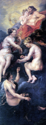 Peter Paul Rubens. The Destiny Of Marie De Medici
